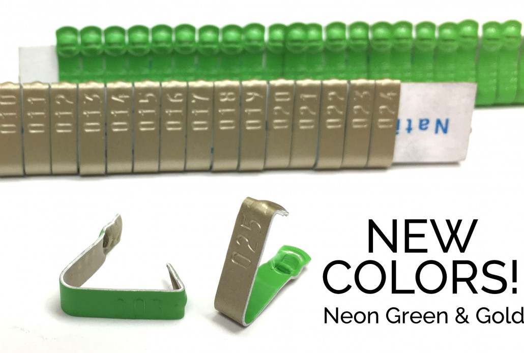 neon green gold 893 wing band