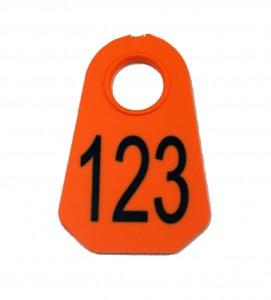 7001 plastic neck tag
