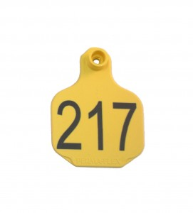7321 plastic ear tag