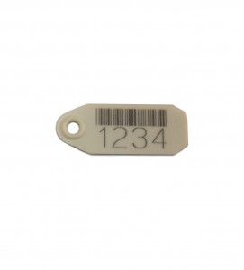 7371 plastic tag