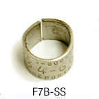 federal bird band size 7B