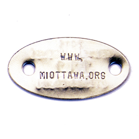 stainless steel stamped tag