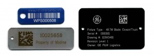 asset tags, barcoded tags