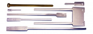 metal cable ties, tongue and slot tags