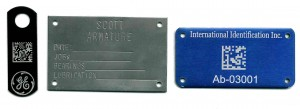 custom industrial plate tags
