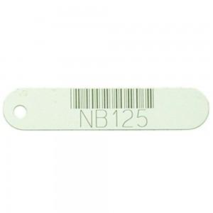 white vinyl tag