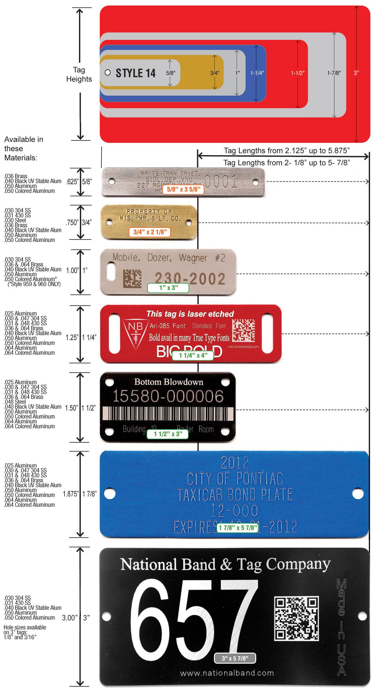custom rectangle tags