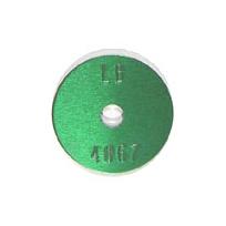 green survey tag