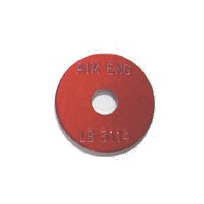 red survey washer