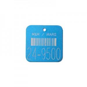 bar coded valve tag