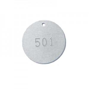 aluminum valve tag