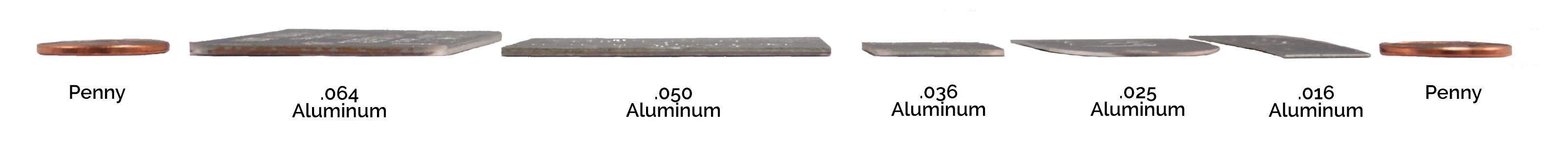 aluminum tag thickness