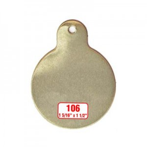 Round Tag Style 106