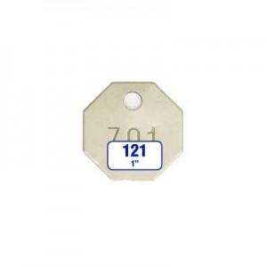 Octagon/Octagonal Tag Style 121