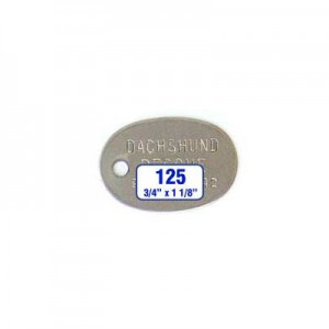 Oval Tag Style 125
