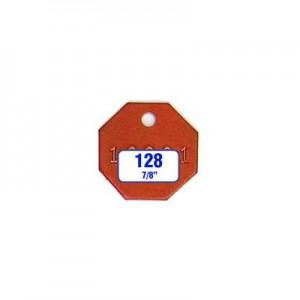Octagon/Octagonal Tag Style 128