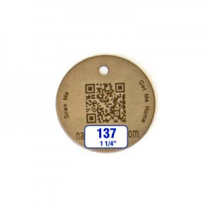 Round Tag Style 137