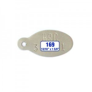 Oval Tag Style 169
