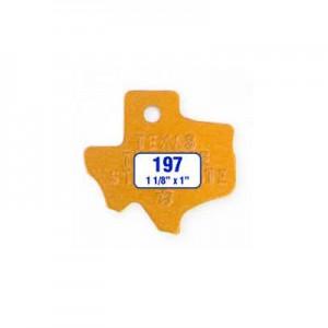 Texas Tag Style 197