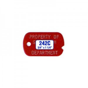 Military Dog Tag Style 242C