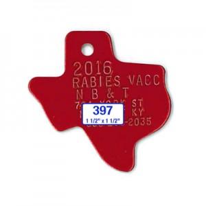 large texas tag