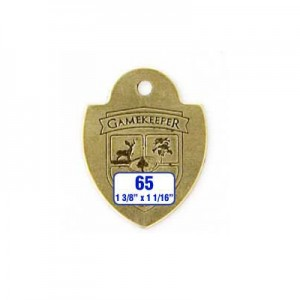 Shield Tag Style 65