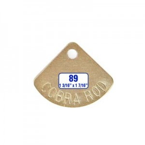 Pie Shaped Tag Style 89