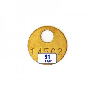 Round Tag Style 91