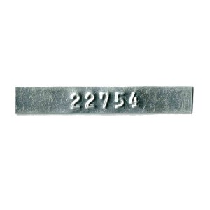thin gauge tag