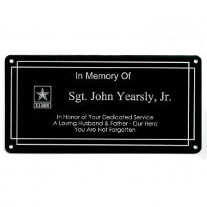 memorial tag