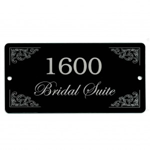 bridal suite tag