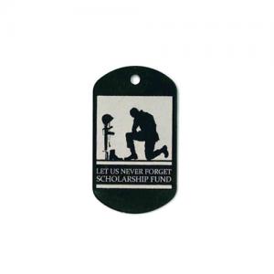 lost soldier memorial tag
