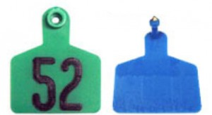 Style 401 plastic cattle ear tag