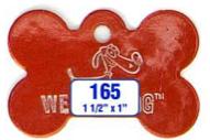dog bone tag