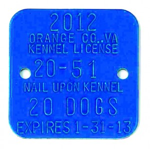 square dog tag