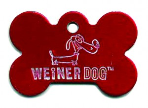 bone dog tag
