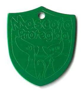 large shield tag