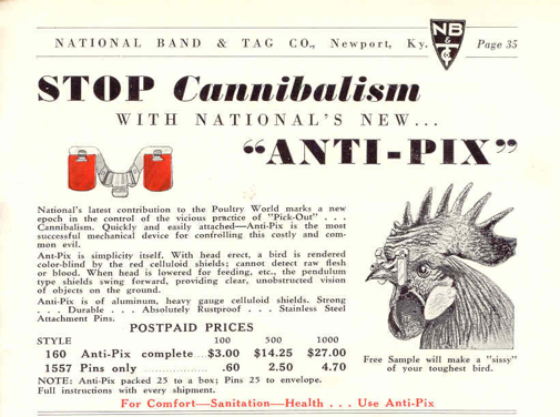 anti-pix chicken glasses