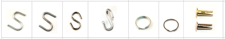 dog tag fasteners and attachments