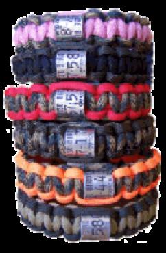duck band paracord bracelets