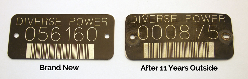 power pole tags