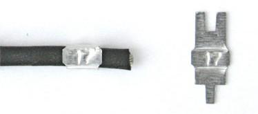 small wrap around tags