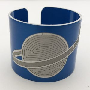 blue napkin ring