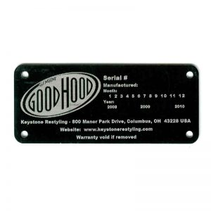 custom automotive tags