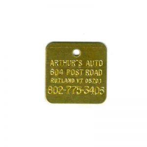 auto parts tag