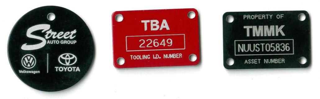 Automotive tags