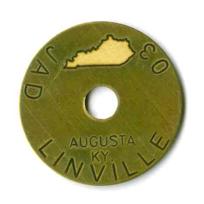 logo on survey marker