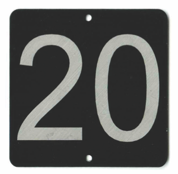 numbered row tag