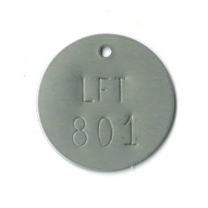304 stainless steel valve tag