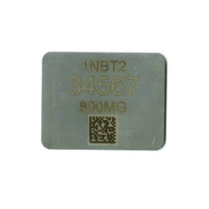 barcoded stainless steel tag